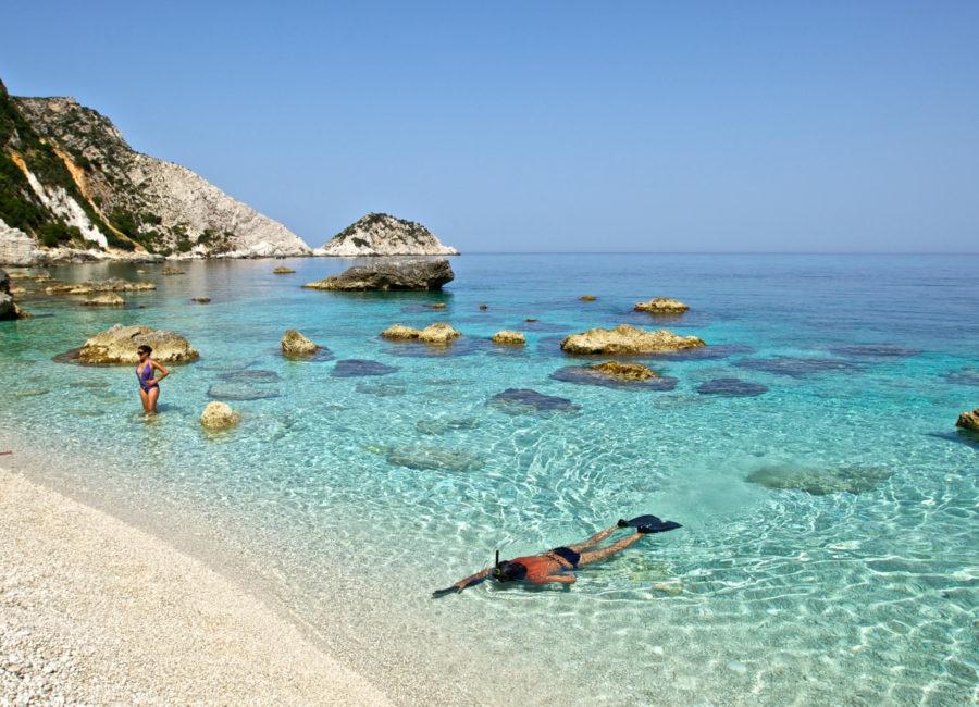 Ece Kefalonia spiaggia