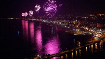 notte rosa rimini 2019 ecerimini fuochi artificio barca
