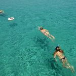 in barca in Croazia