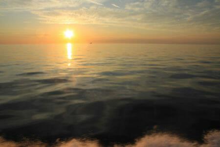 tramonto Escursione crociera Croazia in motoscafo