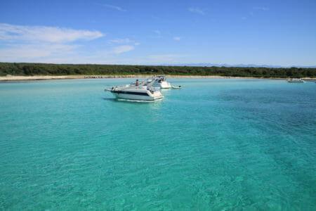 acqua pulita Escursione crociera Croazia in motoscafo