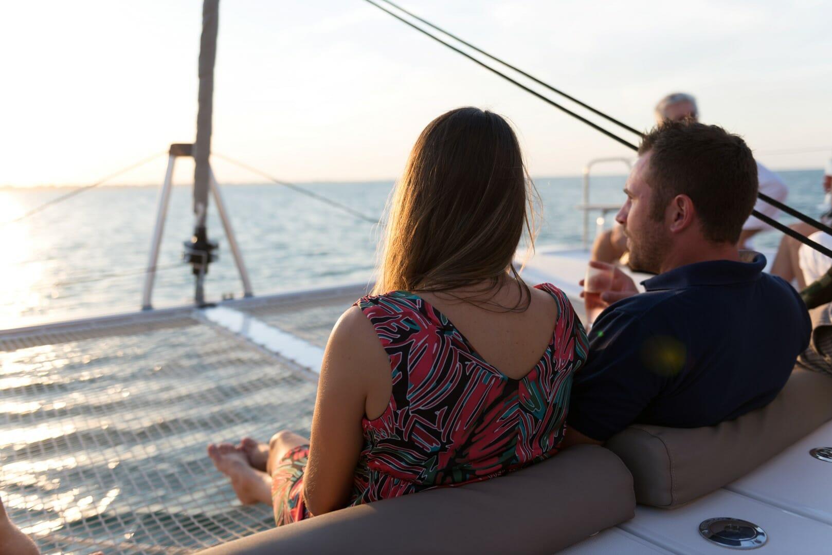 Cena in barca da DeLirio, attenzione chef a bordo !