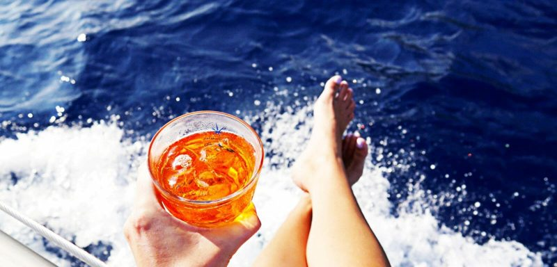 Aperitivi in barca vela a Rimini