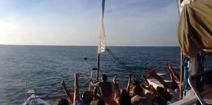 Mare e Gite in barca Rimini, escursioni in Catamarano.