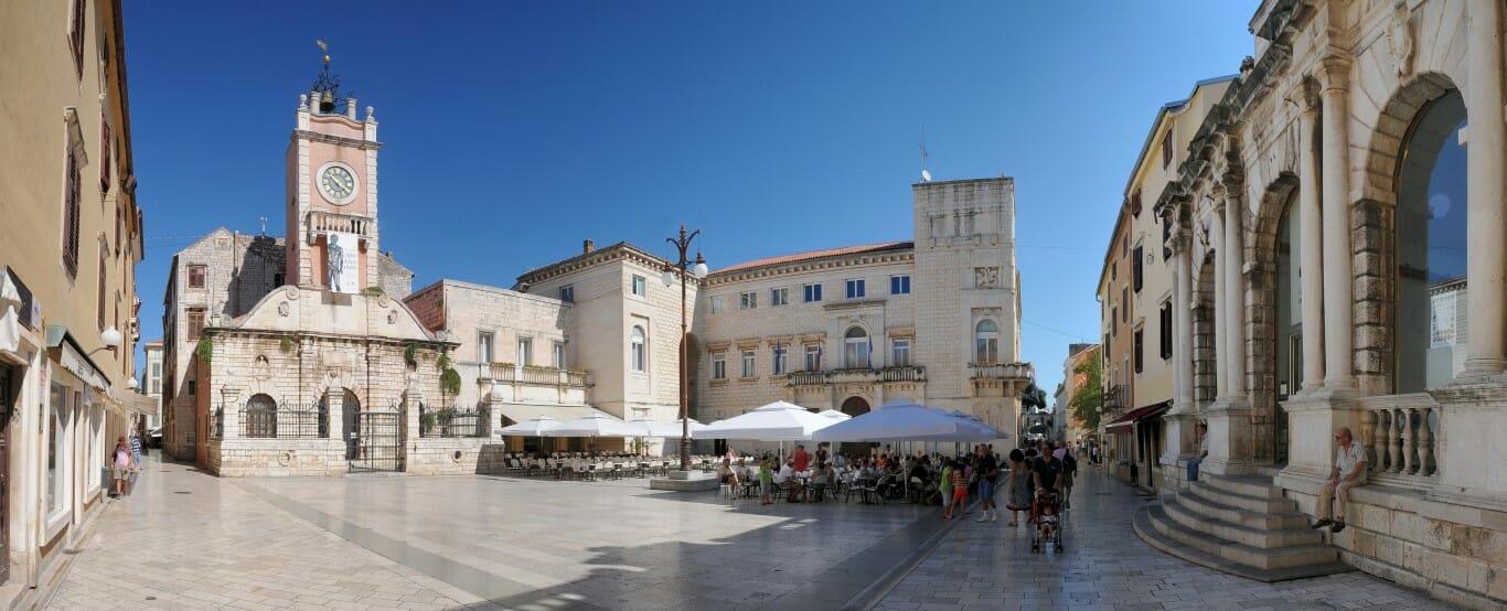 Vacanza in Croazia centro della città di Zara